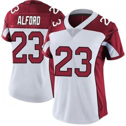 Robert Alford Arizona Cardinals Women's Limited Vapor Untouchable Nike Jersey - White