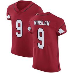 Ryan Winslow Arizona Cardinals Men's Elite Team Color Vapor Untouchable Nike Jersey - Red