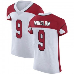 Ryan Winslow Arizona Cardinals Men's Elite Vapor Untouchable Nike Jersey - White