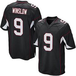 Ryan Winslow Arizona Cardinals Men's Game Alternate Nike Jersey - Black
