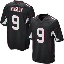 Ryan Winslow Arizona Cardinals Youth Game Alternate Nike Jersey - Black