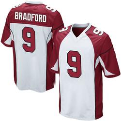 Sam Bradford Arizona Cardinals Men's Game Nike Jersey - White