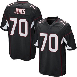 Sam Jones Arizona Cardinals Men's Game Alternate Nike Jersey - Black