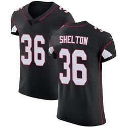 Sojourn Shelton Arizona Cardinals Men's Elite Alternate Vapor Untouchable Nike Jersey - Black