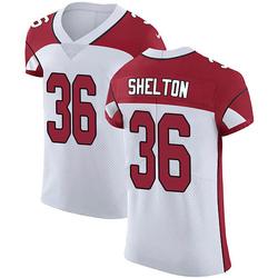 Sojourn Shelton Arizona Cardinals Men's Elite Vapor Untouchable Nike Jersey - White