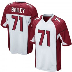 Sterling Bailey Arizona Cardinals Men's Game Nike Jersey - White