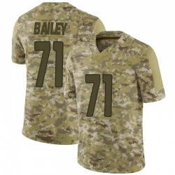 Sterling Bailey Arizona Cardinals Men's Limited 2018 Salute to Service Nike Jersey - Camo