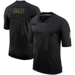 Sterling Bailey Arizona Cardinals Men's Limited 2020 Salute To Service Nike Jersey - Black