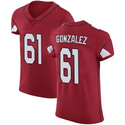 Steven Gonzalez Arizona Cardinals Men's Elite Team Color Vapor Untouchable Nike Jersey - Red