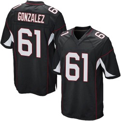 Steven Gonzalez Arizona Cardinals Men's Game Alternate Nike Jersey - Black