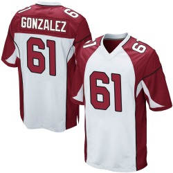 Steven Gonzalez Arizona Cardinals Men's Game Nike Jersey - White
