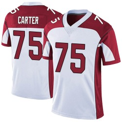 T.J. Carter Arizona Cardinals Youth Limited Vapor Untouchable Nike Jersey - White