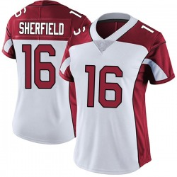 Trent Sherfield Arizona Cardinals Women's Limited Vapor Untouchable Nike Jersey - White