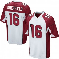 Trent Sherfield Arizona Cardinals Youth Game Nike Jersey - White
