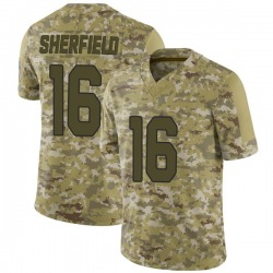 Trent Sherfield Arizona Cardinals Youth Limited 2018 Salute to Service Nike Jersey - Camo