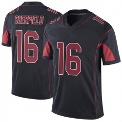 Trent Sherfield Arizona Cardinals Youth Limited Color Rush Vapor Untouchable Nike Jersey - Black