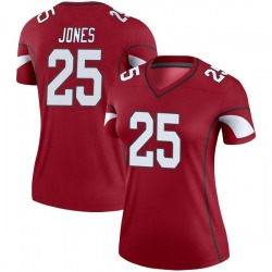 Women's Chris Jones Arizona Cardinals Women's Legend Cardinal Nike Jersey