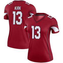 Women's Christian Kirk Arizona Cardinals Women's Legend Cardinal Nike Jersey