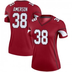 Women's David Amerson Arizona Cardinals Women's Legend Cardinal Nike Jersey