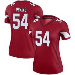 Women's Isaiah Irving Arizona Cardinals Women's Legend Cardinal Nike Jersey