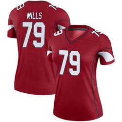 Women's Jordan Mills Arizona Cardinals Women's Legend Cardinal Nike Jersey