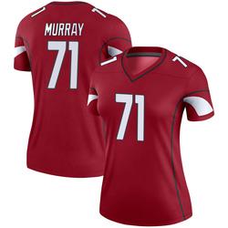 Women's Justin Murray Arizona Cardinals Women's Legend Cardinal Nike Jersey