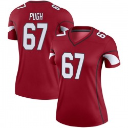Women's Justin Pugh Arizona Cardinals Women's Legend Cardinal Nike Jersey