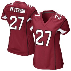Women's Kevin Peterson Arizona Cardinals Women's Game Cardinal Team Color Nike Jersey
