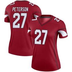 Women's Kevin Peterson Arizona Cardinals Women's Legend Cardinal Nike Jersey