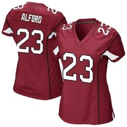 Women's Robert Alford Arizona Cardinals Women's Game Cardinal Team Color Nike Jersey