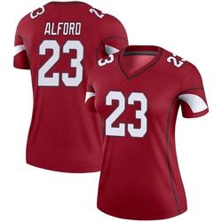Women's Robert Alford Arizona Cardinals Women's Legend Cardinal Nike Jersey