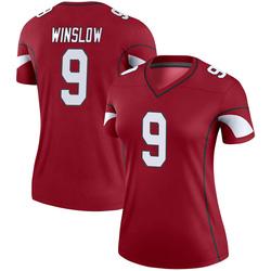 Women's Ryan Winslow Arizona Cardinals Women's Legend Cardinal Nike Jersey