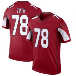 Youth Brett Toth Arizona Cardinals Youth Legend Cardinal Nike Jersey