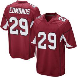 Youth Chase Edmonds Arizona Cardinals Game Cardinal Team Color Nike Jersey