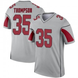 Youth Deionte Thompson Arizona Cardinals Youth Legend Inverted Silver Nike Jersey