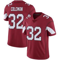 Youth Derrick Coleman Arizona Cardinals Youth Limited Cardinal 100th Vapor Nike Jersey