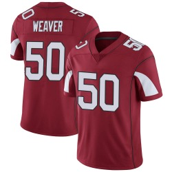Youth Evan Weaver Arizona Cardinals Youth Limited Cardinal Team Color Vapor Untouchable Nike Jersey