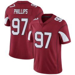 Youth Jordan Phillips Arizona Cardinals Youth Limited Cardinal Team Color Vapor Untouchable Nike Jersey