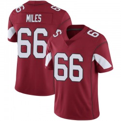 Youth Joshua Miles Arizona Cardinals Youth Limited Cardinal 100th Vapor Nike Jersey