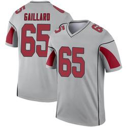 Youth Lamont Gaillard Arizona Cardinals Youth Legend Inverted Silver Nike Jersey