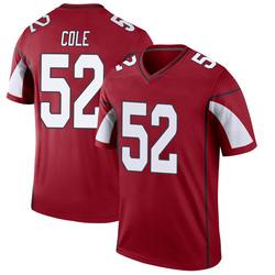 Youth Mason Cole Arizona Cardinals Youth Legend Cardinal Nike Jersey
