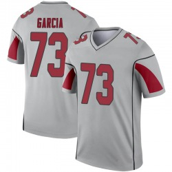 Youth Max Garcia Arizona Cardinals Youth Legend Inverted Silver Nike Jersey
