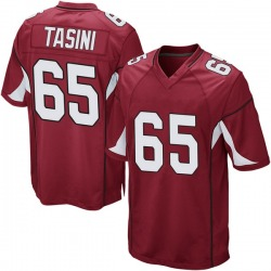 Youth Pasoni Tasini Arizona Cardinals Youth Game Cardinal Team Color Nike Jersey
