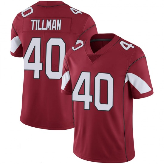 Youth Pat Tillman Arizona Cardinals Youth Limited Cardinal 100th Vapor Nike Jersey