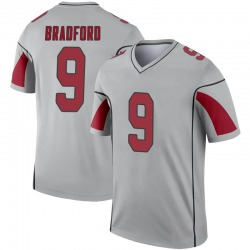 Youth Sam Bradford Arizona Cardinals Youth Legend Inverted Silver Nike Jersey