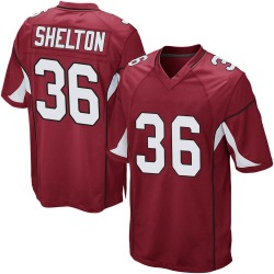 Youth Sojourn Shelton Arizona Cardinals Youth Game Cardinal Team Color Nike Jersey