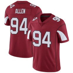 Youth Zach Allen Arizona Cardinals Youth Limited Cardinal Team Color Vapor Untouchable Nike Jersey