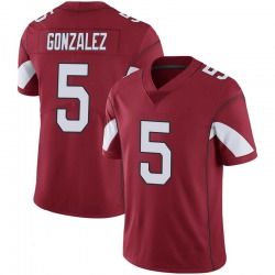 Youth Zane Gonzalez Arizona Cardinals Youth Limited Cardinal 100th Vapor Nike Jersey