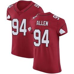 Zach Allen Arizona Cardinals Men's Elite Team Color Vapor Untouchable Nike Jersey - Red