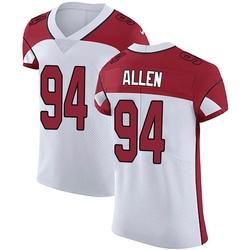 Zach Allen Arizona Cardinals Men's Elite Vapor Untouchable Nike Jersey - White